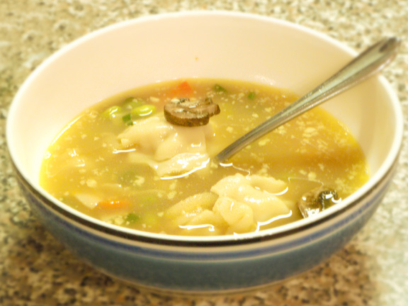 Asian Potsticker Soup