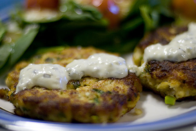 Lemon Parsley Fish Cakes   Nothing But Country