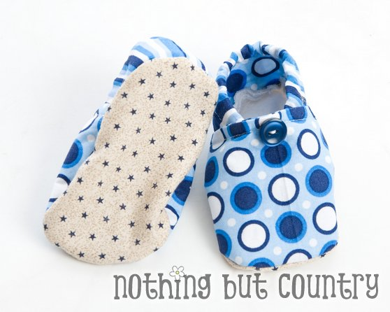 DIY- Adorable Cloth Baby Shoes | Nothing But Country