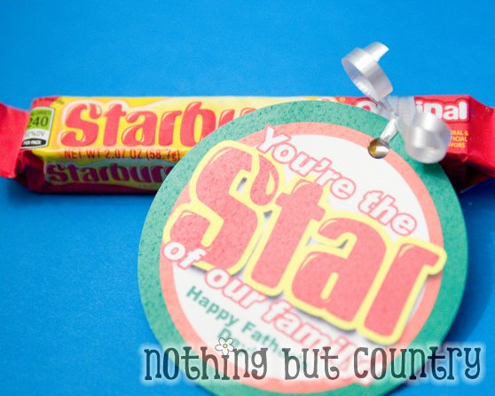 You're the STAR of our ….. Gift Tag | Nothing But Country