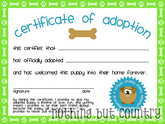 ... Pictures dog birth certificate template dog birth certificate template