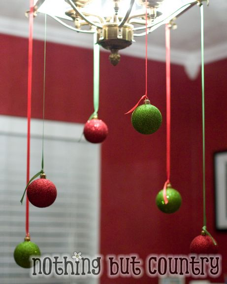Sometimes It Is The Simple Things That Help Make Christmas Decorating So  Nice.