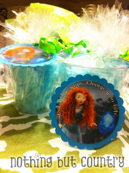 Brave Movie Party – Princess Merida & Friends – Scottish