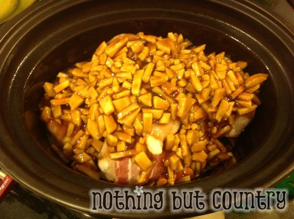 Slow Cooker – Bacon Wrapped Apple BBQ Chicken – Pinterest Succes ...