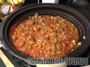 Copy Cat Wendy's Chili Recipe