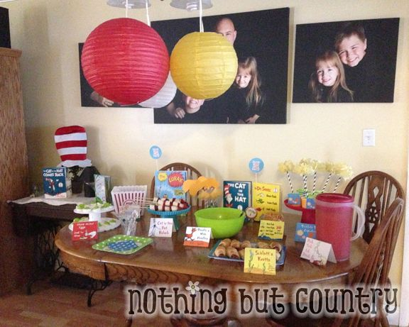 Dr. Seuss Birthday Party 2013 | NothingButCountry.com