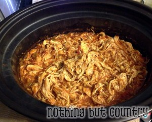 Best Crockpot Chicken Tacos | NothingButCountry.com