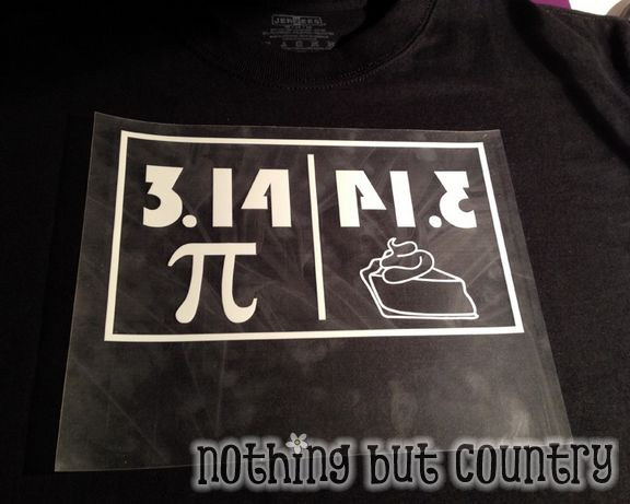 Pi Day 3.14 - March 14 - Shirts | NothingButCountry.com
