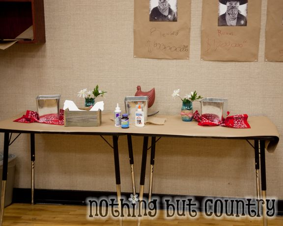 Western / Cowboy Cub Scout Blue & Gold Banquet | NothingButCountry.com