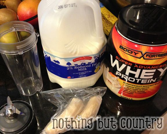 High Protein Shake Breakfast that is actually delicious!! | NothingButCountry.com