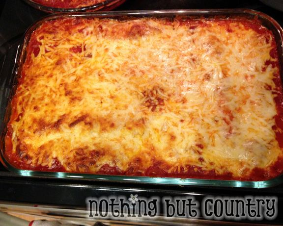 MB's Manicotti made with delicious crepes | NothingButCountry.com
