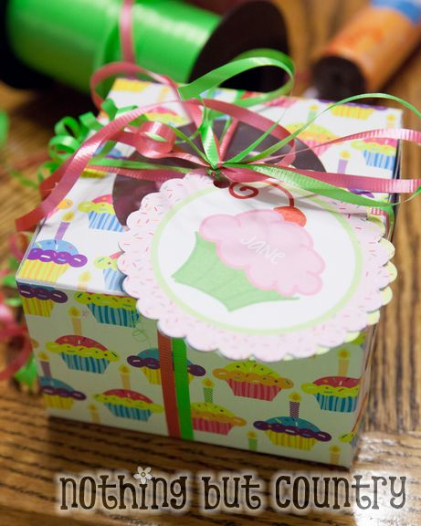 Cupcake Birthday Invitation | NothingButCountry.com