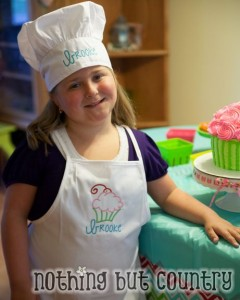 Cupcake / Cupcake Wars Birthday Party - NothingButCountry.com