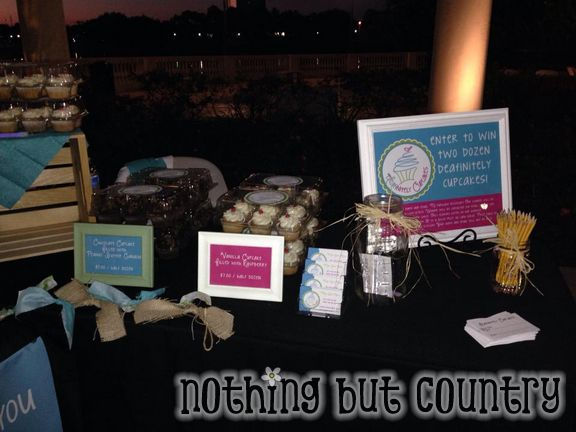 DEAFinitely Cupcakes | Our 1st Booth | NothingButCountry.com