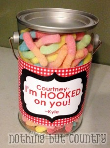 Valentines - I'm hooked on you!