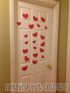 Valentine's Day - Heart Attack your kids door
