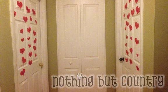 Valentine's Day - Heart Attack your kids door