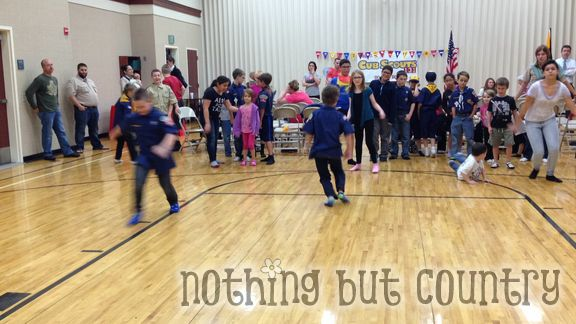 Cub Scout Pack Meeting - Winter Olympics aka Cublympics