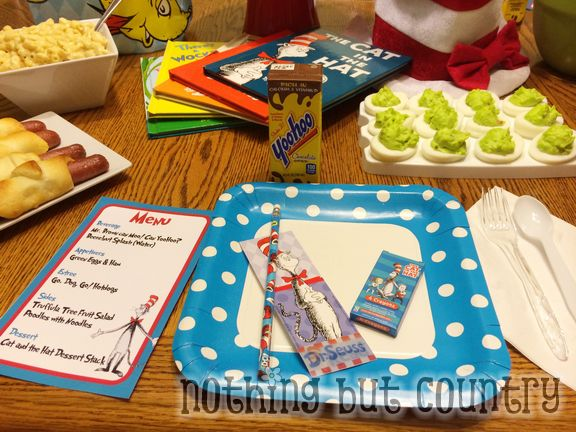 Dr. Seuss Birthday Party 2014