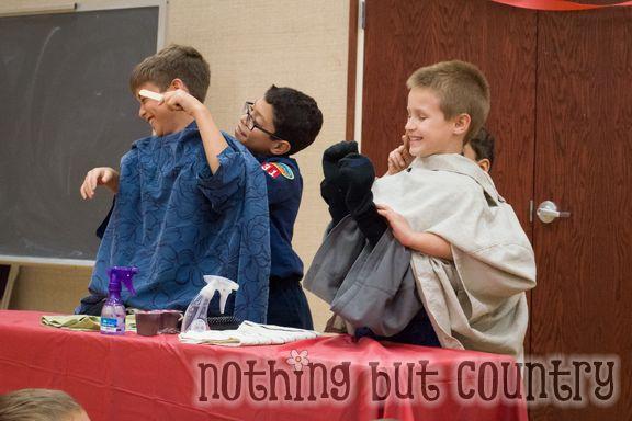 Cub Scout Blue & Gold Banquet- Mustache Bash