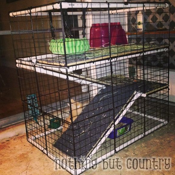DIY Rabbit / Bunny Cage for cheap