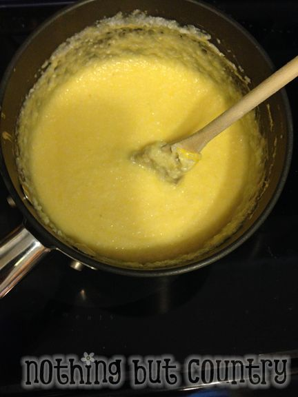 Creamy Homemade Cheese Grits