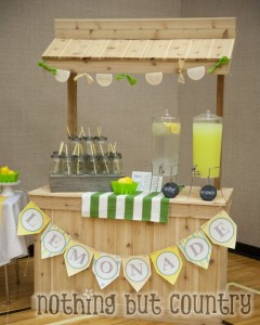 Cedar Lemonade Stand | NothingButCountry.com