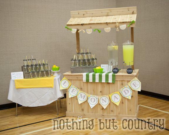 Relief Society Night Meeting - When life hands you lemons make lemonade   NothingButCountry.com