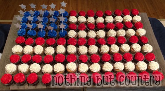 Eagle Court of Honor Cupcakes | NothingButCountry.com