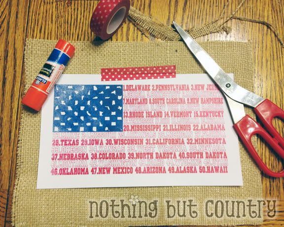 United States Flag Print Framed | NothingButCountry.com