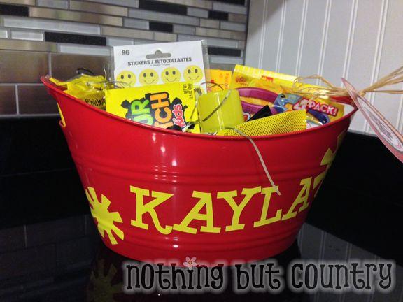 Basket of Sunshine - Graduation Gift  | NothingButCountry.com