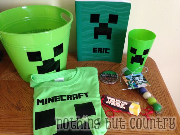 Minecraft Birthday Party | NothingButCountry.com