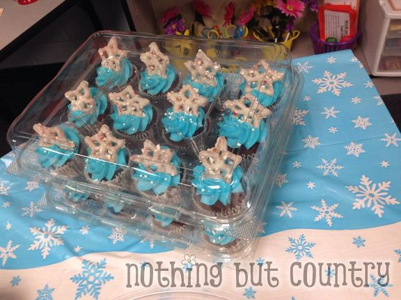 4th Grade Frozen Themed Holiday Party