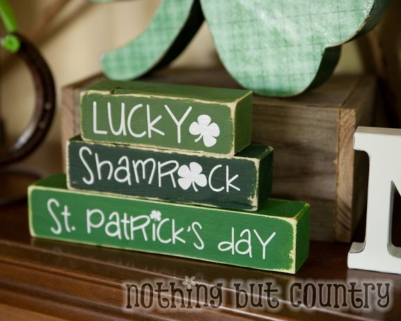 st. patrick's day crafts and home decorations 2015 | nothing but