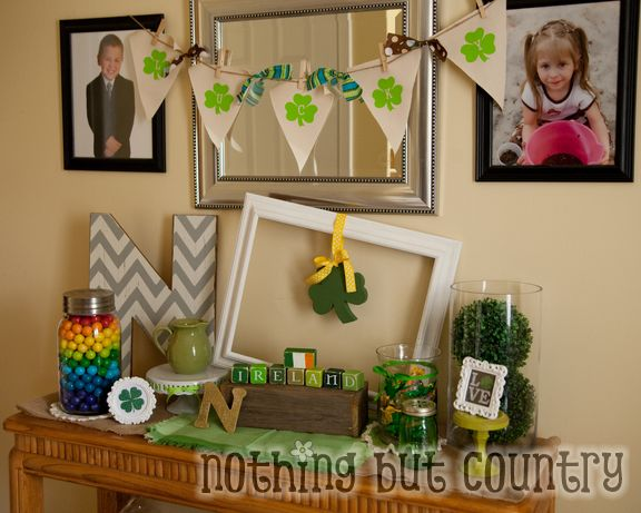St. Patrick's Day Crafts and Home Decorations 2015