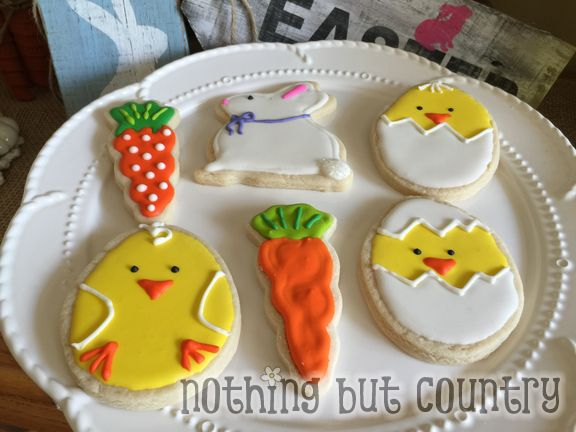 Fun with Sugar Cookies