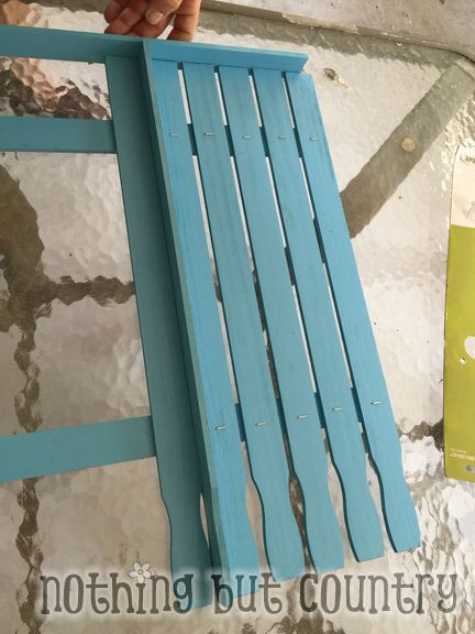 Cute Picket Fence for Easter - Cheap