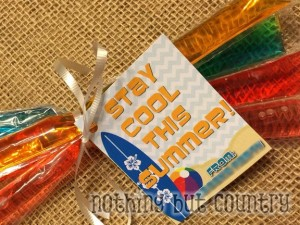 Stay Cool This Summer - End of year gift
