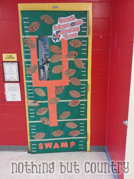FLORIDA GATOR THEME DOOR- Teacher Appreciation