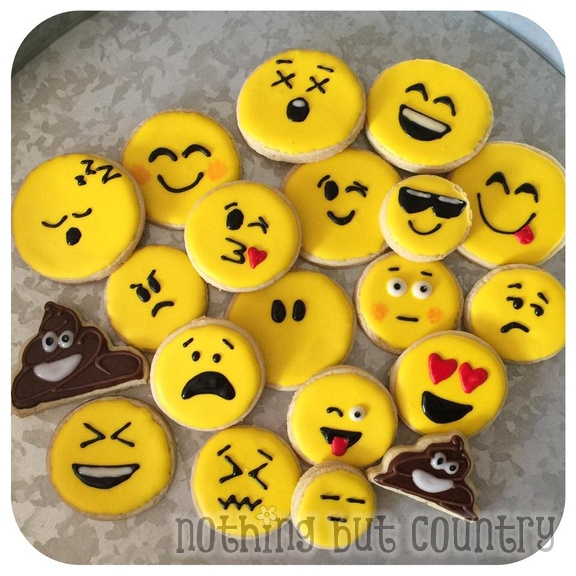 Emoji Sugar Cookies