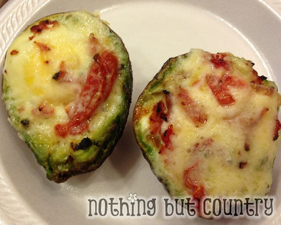 Eggs baked in an Avocado - Yummy Healthy Breakfast