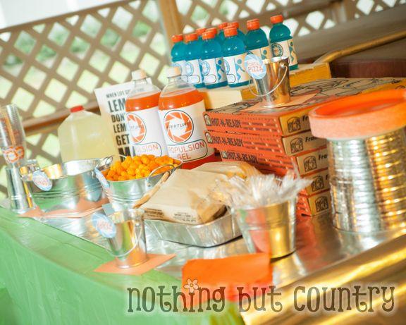 Teen Birthday Party - Portal 2 Theme   NothingButCountry.com