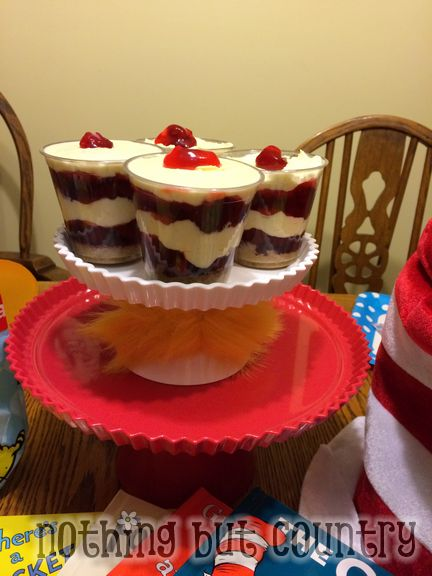Personal Strawberry Cheesecake Dessert