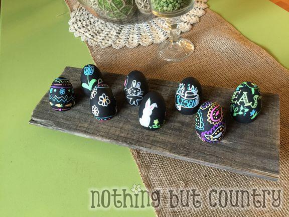 Easter Egg Display Holder