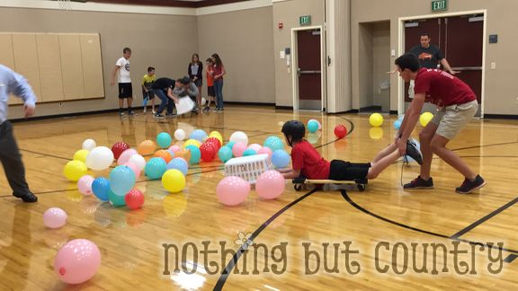 Youth Activity- Mutual - Human Hungry Hungry Hippos